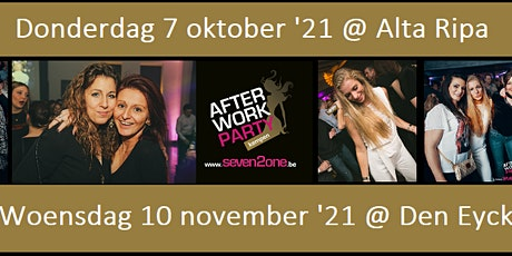 Afterwork Party Seven2one tickets