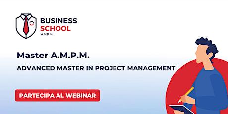 MASTER A.M.P.M.   |   Webinar di presentazione biglietti