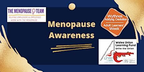 Menopause Awareness tickets