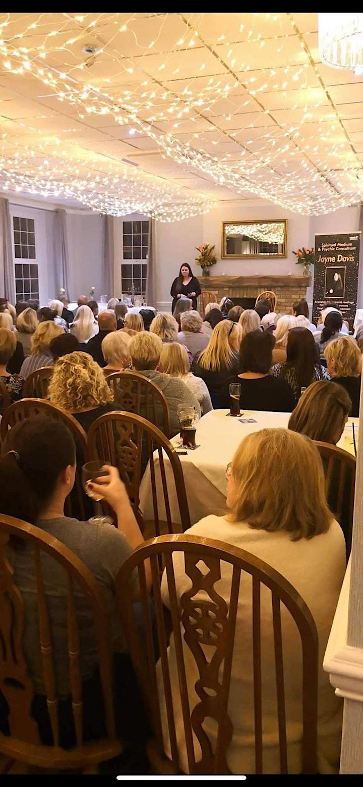 Clairvoyant Night with Jayne Davis 27/09/21 image