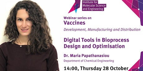 Digital Tools in Bioprocess  Design and Optimisation tickets