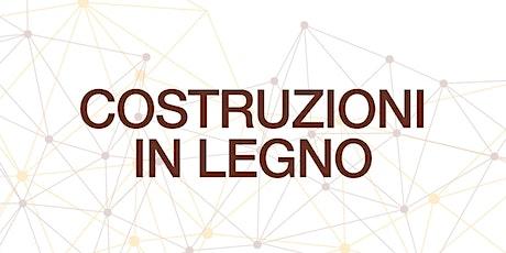 Evento frontale REGGIO EMILIA | Progettare e Costruire in LEGNO biglietti