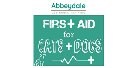 First Aid for Cats and Dogs tickets