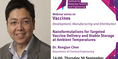 Nanoformulations for Targeted Vaccine Delivery & Stable Storage tickets
