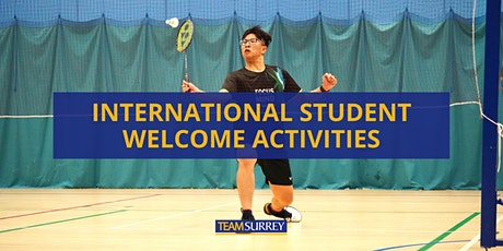 International Student Welcome Activities at Surrey Sports Park tickets