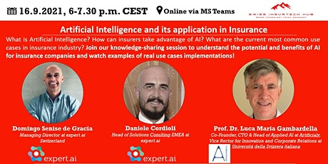 Artificial Intelligence and its application in Insurance tickets