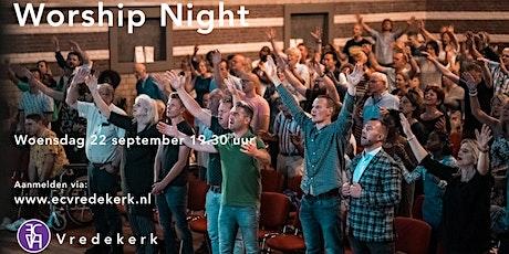 Worship Night woensdag 22 september 19.30  uur tickets