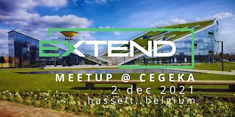 EXTEND: Hasselt Meetup @  CEGEKA billets