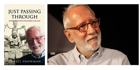 AJR Book Club - Daniel Snowman, author of 'Just Passing Through' tickets
