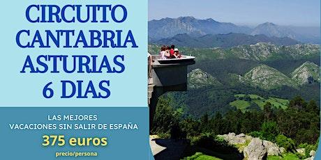 CIRCUITO CANTABRIA- ASTURIAS 6 DIAS entradas