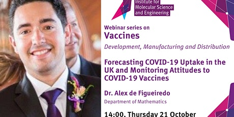 Forecasting COVID-19 uptake in the UK and monitoring attitudes to Vaccines tickets
