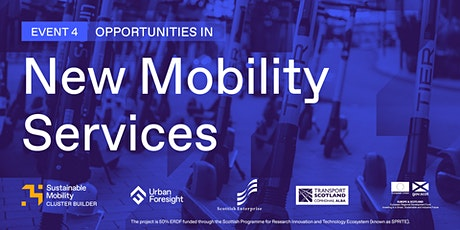 Opportunities in New Mobility Services tickets