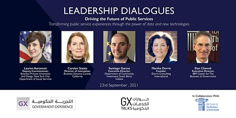 GXTalks Leadership Dialogues - Driving the Future of Public Services tickets