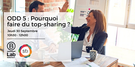 ODD 5 -  Pourquoi faire du top-sharing ? STI Thematic Event - FR billets