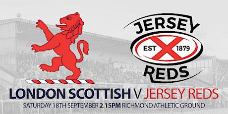 London Scottish v Jersey Reds tickets