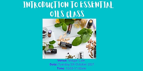 Introduction to Essential Oils Class tickets