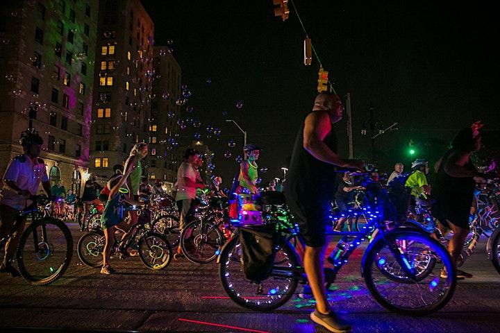 DLECTRICITY 2021 Light Bike Parade image
