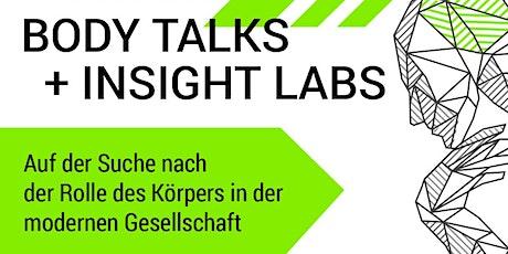 Post Corona ReStart: Body Talks + Insight Labs tickets