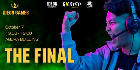 Ideon Games 2021 Final tickets