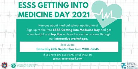 Getting into Medicine Day tickets