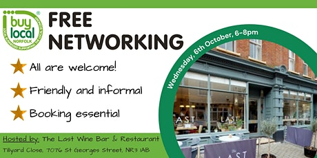 Buy Local Norfolk Networking -  6th Oct tickets