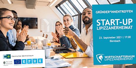 Gründer*innentreffen Nr. 2 - Start-up Lipizzanerheimat tickets