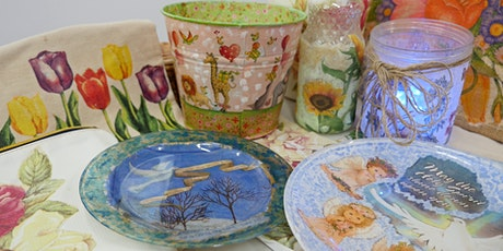 Decoupage Art Course starts Oct 9 (4 Sessions) tickets