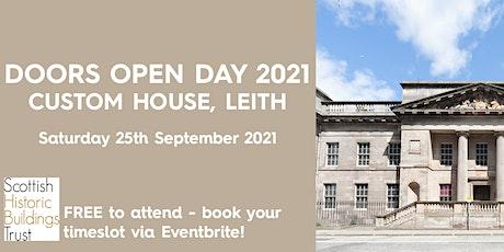 Doors Open Day - Custom House, Leith tickets