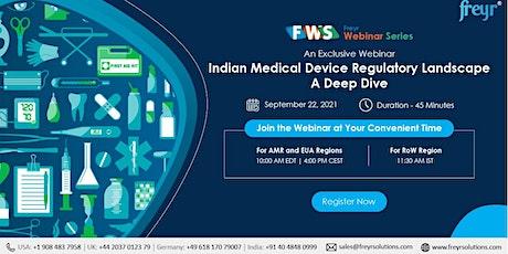 Indian medical device regulatory landscape- A deep dive tickets