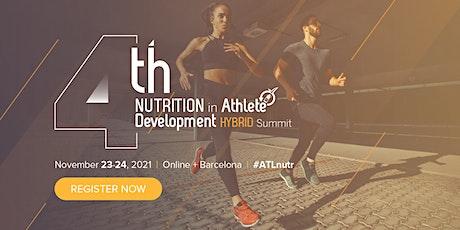 4th Nutrition in Athlete Development Hybrid Summit entradas