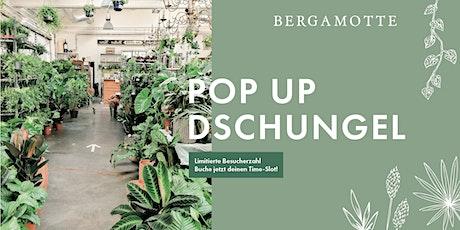 Bergamotte Pop Up Dschungel // Frankfurt Tickets