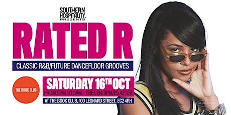 Rated R - Classic R&B + Rap Anthems! tickets