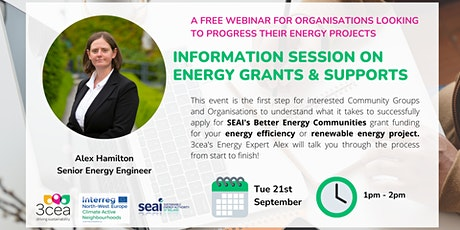 Information Session on Energy Grants & Supports for Organisations tickets