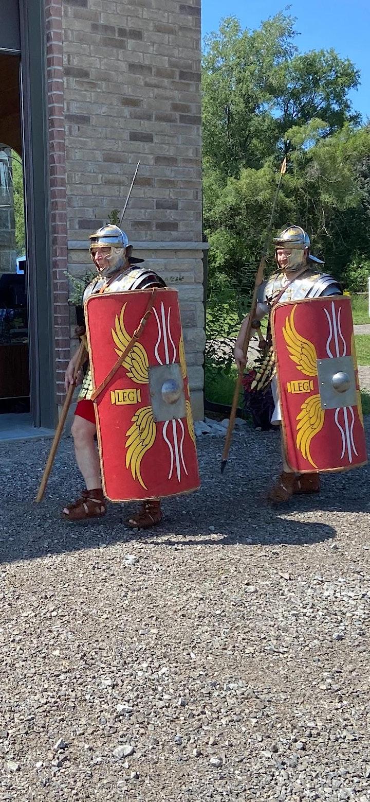 Roman Re-Enactment Event @VillaRomana image