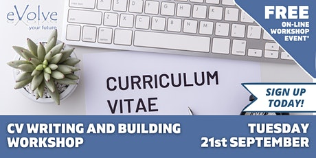 CV Writing and Building workshop tickets