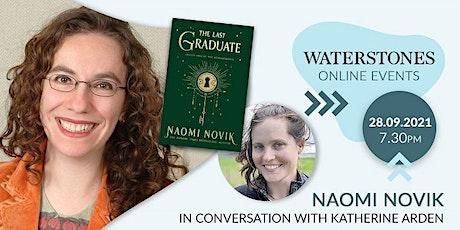 Naomi Novik – in conversation with Katherine Arden tickets
