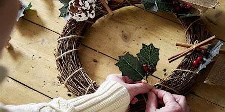 Christmas Wreath Making Workshop tickets
