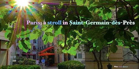 Paris : a stroll in Saint-Germain-des-Près billets