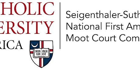 Seigenthaler-Sutherland Cup 2022 National First Amendment  Competition tickets