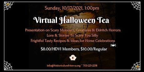 Halloween Tea tickets