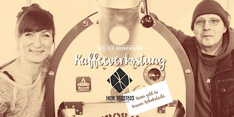 Kaffeeverkostung mit den Indie Roasters & Vivani Schokolade. Tickets