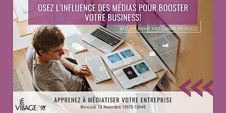 Osez l'influence des médias pour booster votre entreprise! billets