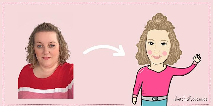 Sketchnotes Portrait: Me, Myself & I - erstell dein eigenes Mini Me: Bild