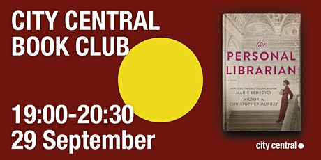 City Central Book Club: The Personal Librarian tickets