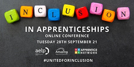 Inclusion in Apprenticeships Conference - National Inclusion Week 2021 tickets