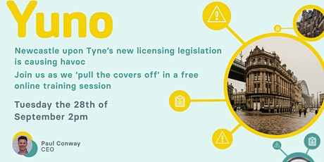 Newcastle new licensing is causing a few headaches. Yuno you need to join! tickets