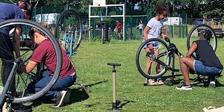 Free-  Women's Basic Bike Maintenance in the Park October tickets