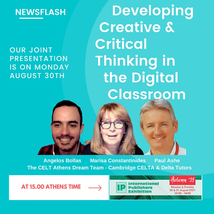 DEVELOPING CREATIVE & CRITICAL THINKING IN THE DIGITAL CLASSROOM image