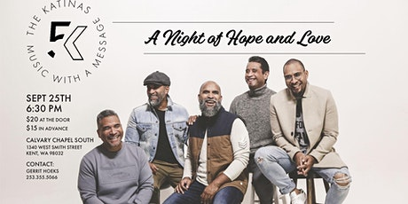 A night of Hope and Love with The Katinas tickets