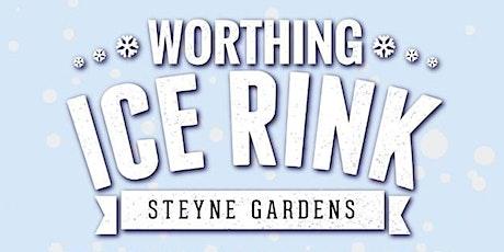 Worthing Ice Rink - Peak Ice Skating Session - School Holidays tickets